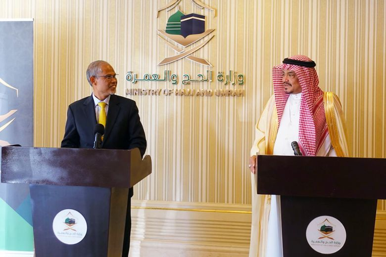 Masagos asks Saudi Arabia for more haj places…